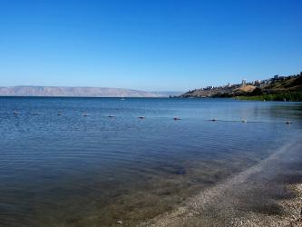 Madgdala (5 minutes de l'Oasis) vue sur Tibériade