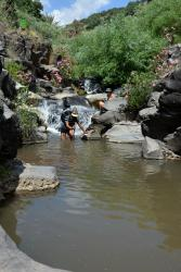 Parc Naturel de Yehudia (30 minutes de l'Oasis), Canyoning