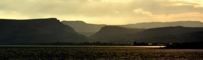Magdala (5 minutes de l'Oasis) dominée par la Vallée de l'Arbell