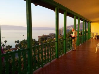 Oasis : Balcon sur le lac