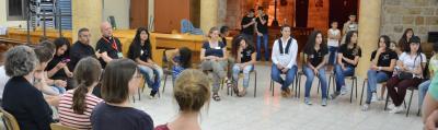 Deir Hanna (25 minutes de L'Oasis) : Echanges groupes Allemands et jeunes Arabes Chrétiens