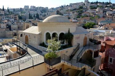 Nazareth (40 minutes de l'Oasis) : la Chapelle du '' Centre Marie de Nazareth''