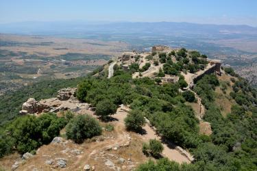 Forteresse de Nimrod au Mont Hermon (50 minutes de l'Oasis)