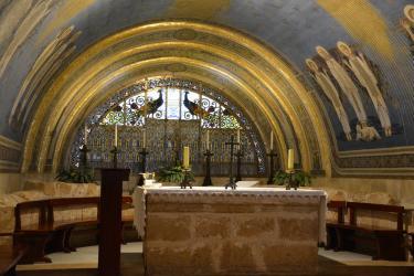 Mont Tabor (40 minutes de l'Oasis) : l'Eglise