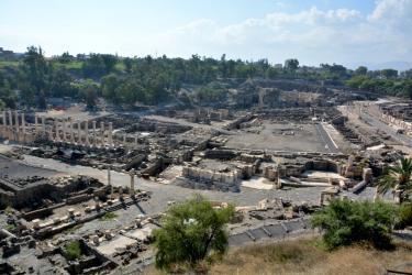 Betshean (25 minutes de l'Oasis), Site archéologique (-IVe)